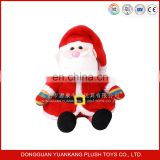plush christmas Santa Claus toy