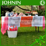 100% cotton cheap wholesale customized logo table cloth