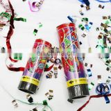 spring environmental protection fireworks party paper popper torch confetti cannon