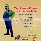 new products Halloween carnival party easy cosplay adult Super Mario costume sexy halloween costumes men