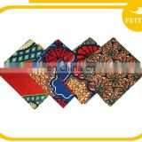 New Fashion African Wax Prints Fabric 6 Yards Cotton Hollandais Yarn Dyed Super Wax For Wedding Party