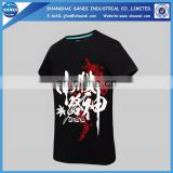 Promotion custom print sports t-shirt