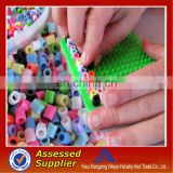 Wholesale DIY fuse beads mini Cheap Plastic Ironing DIY Kids Toys Game Beads Fashion Perler Fused Hama Beads Set