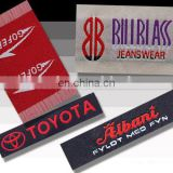 Cheap Polyester satin Woven label Printted Logo