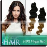 New Arrive 5A Two Tone Hair Brazilian Human Hair Sew In Weave