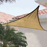 Anti UV Sun Shade Sail Colorful HDPE Shade Sail