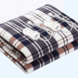 Popular Electric Heated blanket Synthetic Wool,Polar Fleece,Polyester material LED display overheat protection