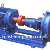 PW open impeller sewage centrifugal horizontal pump