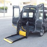 DN-880U Electric and hydraulic wheelchair lifting platform for van with  CE and EMARK certificate loading capacity 300kg