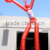 custom 2 legs inflatable advertising groove sky man