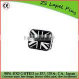 Personalized quality Black and White British Flag Belt Buckle