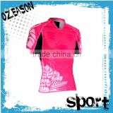 top-selling softtextile customized design cricket t-shirt pattern with collar jersey for player