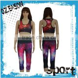 The factory price custom fitness wear, womens fitness tank top and pants for yoga Wholesale                                                                         Quality Choice