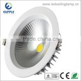 3years warranty embedded ceiling 3W,5W,7W,9W,12W,15W COB led downlight, 8inch 20w led downlight housing,30W led downlight price