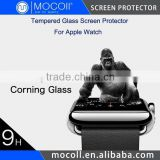 SGS/RoHS Certified Corning Tempered Glass Screen Protector For Apple Watch 0.15mm/0.1mm Available