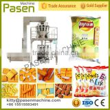 Banana chips snack packing machine/10 multi heads chips packing machine/French fries package machine                                                                         Quality Choice