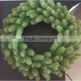 Custom new style clamp wreath rings christmas decoration wreaths 12 inch
