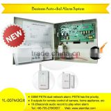 Dual network alarm system PSTN GSM Voice Alarm Auto Dialer YL-007M3GX