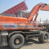 Used Hitachi Excavator EX200WD Wheel Excavator, Second Hand Hitachi excavator EX200WD For Sale