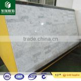 3mm, 5mm carrara white marble composite tiles panel 60x60