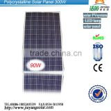 90W Poly Solar Panel From China Manufacturer , low price and high quality for PV system roof and ground
