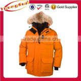 Outdoor parka coat extreme winter jacket for men