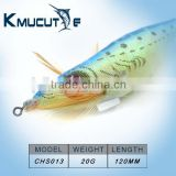 Chentilly Big 3D eyes Luminous body squid jigs luminous tail squid jig Japanese squid jigs