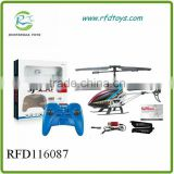 3.5Channel ialloy rc helicopter with gyro,infrared & light