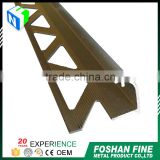 China factory high Precision aliuminum profile ceramic tile edge trim