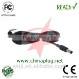 5.5*2.1mm dc laptop adapter cable