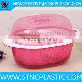 Colander Plastic Clean Rice Machine Vegetables basin wash rice sieve fruit bowl fruit basket