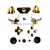 Chrome Gold ABXY Dpad Triggers Full Buttons Set Kits for Xbox One