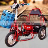 Elder electric folding tricycle mini tricycle/mini folding scooter