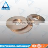 W75 tungsten copper electrode erosion electrodes round sheet disc ring price for EDM and ECM