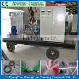 1000bar heat transfer tube cleaning machine heat exchanger tube cleaning equipment