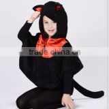 Halloween Party Cartoon animal costume for children black Toddler Baby Cat Costume