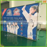 3*3,3*4 Custom Promotion Wall Background Fabirc Pop Up Banner Display
