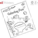 Colouring and activity books printing for kids from Indian printer