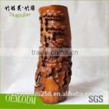 Chinese culture love folk art crafts collection bamboo root carving crafts