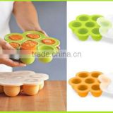 HOT Sale LFGB & FDA Approved Non-stick Non-Toxic Silicone baby food steamer