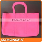 china wholesale fashion handbags, pink lady silicone shopping bag