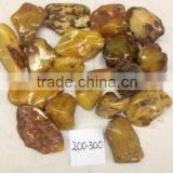 Natural Baltic RAW amber stone (polished)