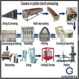 Autoamtic tapioca starch machine/cassava flour production equipment