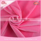 Alibaba China Supplier 100% Polyester,China Scarf Teddy Bear With Super Soft Velboa, Short Pile Fleece Knitting Fabric