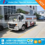 8000 liters litres mini petrol tanker for sale 8cbm diesel type fuel tank truck dongfeng used oil trucks