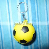 pu football key ring