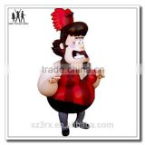 vinyl ballroom dancing crow, designer vinyl dolls design toy custom make manufacturer