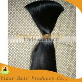 100% Pure Virgin Indian Temple Hair/Indian Remy Hair/Indian Hair Bulk