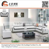 Suofeige fashion design black and white living room sofa 6101