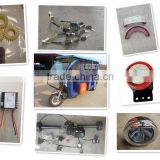 Types of Spare Parts for Electric Tricycle and Rickshaw